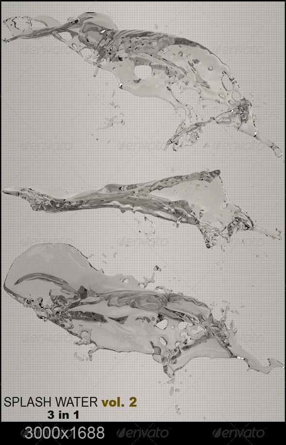 GraphicRiver Water Splash Vol.2 5827807