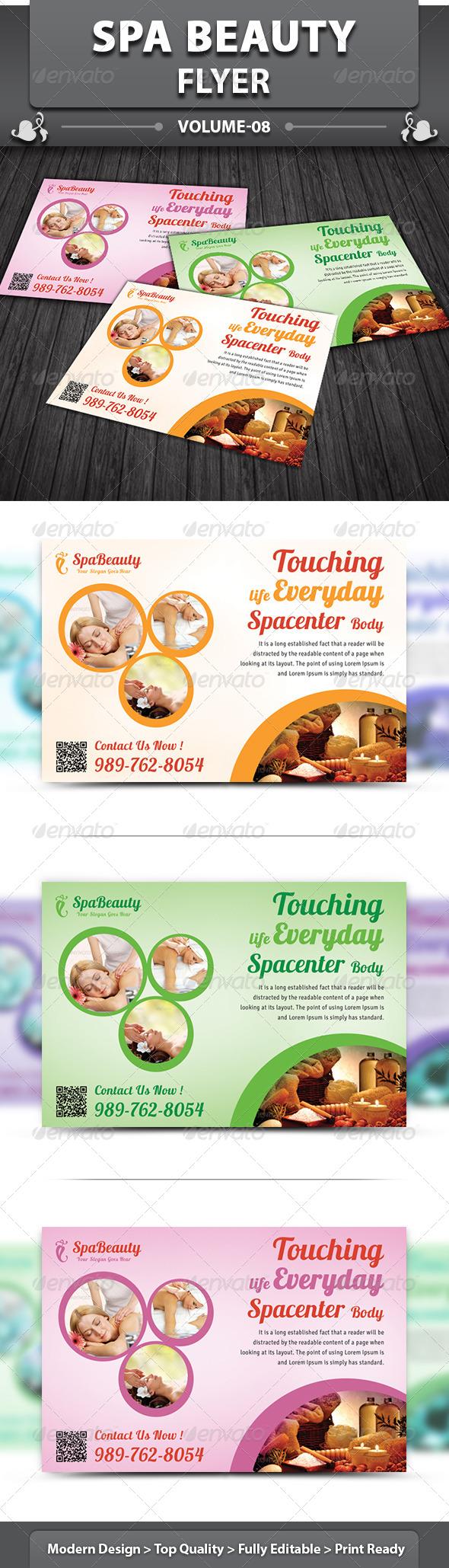 GraphicRiver Spa Beauty Flyer v8 5828014