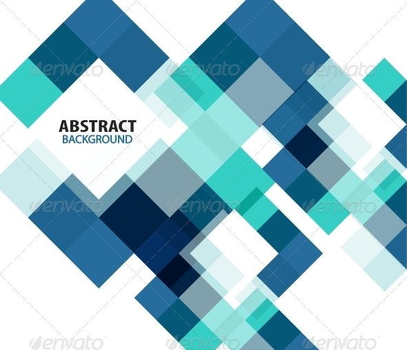 GraphicRiver Blue Modern Geometrical Abstract Background 5828303