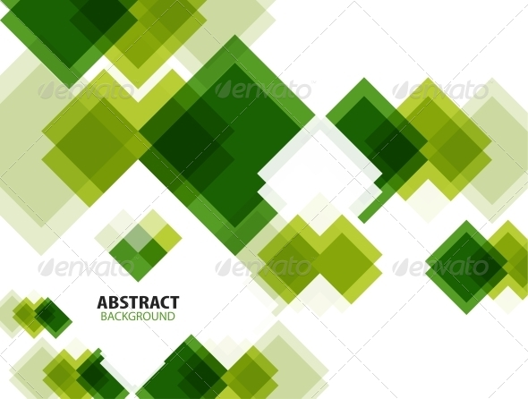 GraphicRiver Green Modern Geometrical Abstract Background 5828306