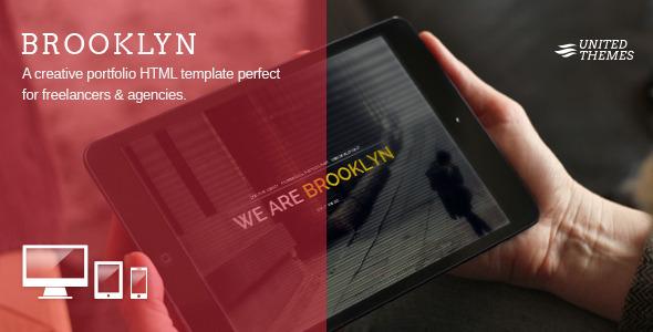 Brooklyn – Creative Portfolio Page HTML (Portfolio) images