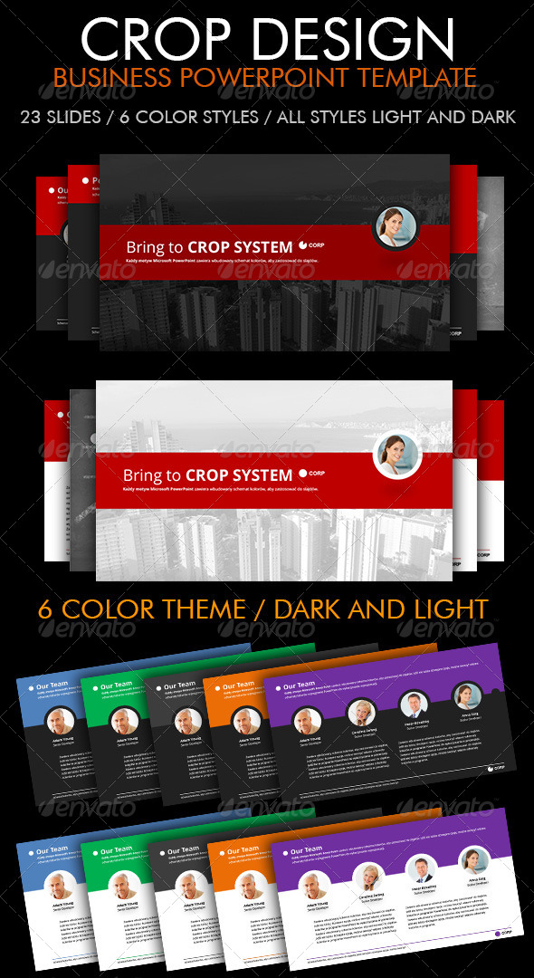 GraphicRiver Business Presentation Template 5828680