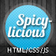 Spicylicious – HTML e-commerce theme