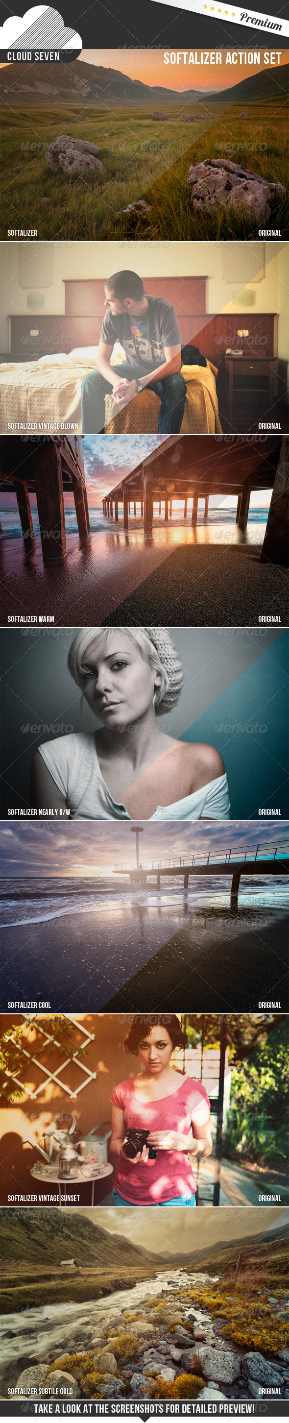 GraphicRiver Softalizer Action Set 5829129