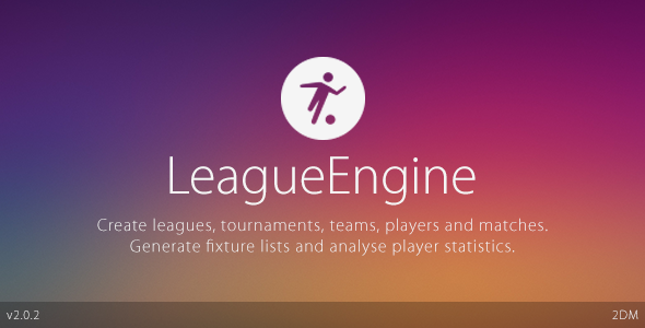 LeagueEngine v2.0.2 – Team Edition | CodeCanyon WordPress Plugin