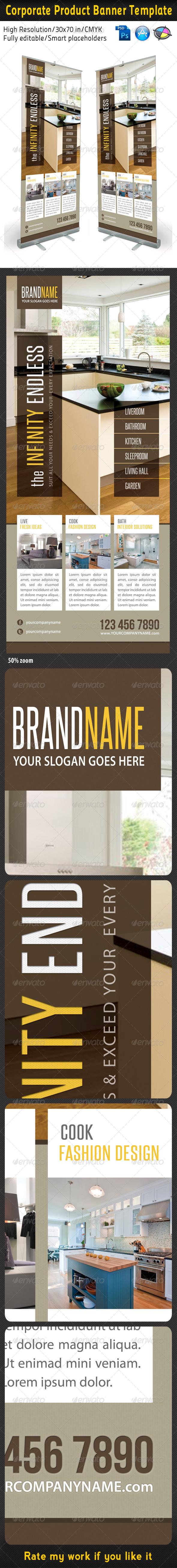 GraphicRiver Corporate Multipurpose Banner Template 19 5829437