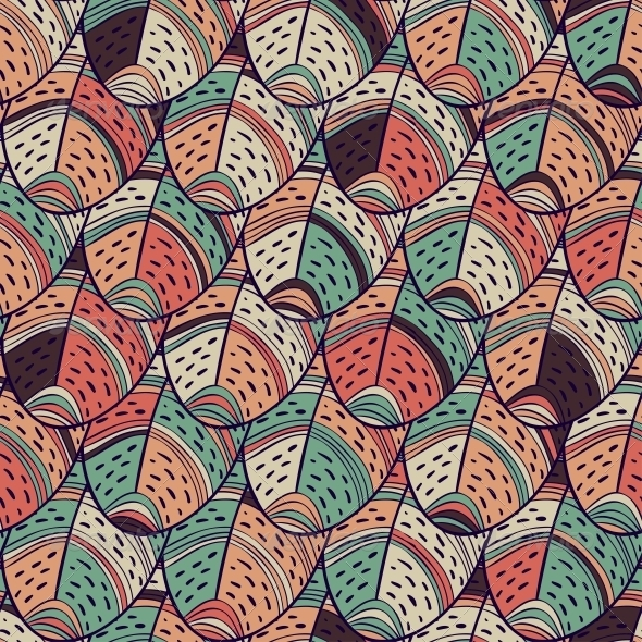 GraphicRiver Feathers Seamless Pattern 5830156