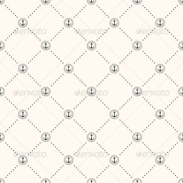 GraphicRiver Vector Seamless Retro Pattern 5830409