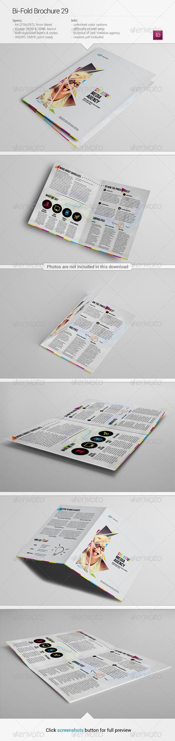 Bi-Fold Brochure 29 - Informational Brochures