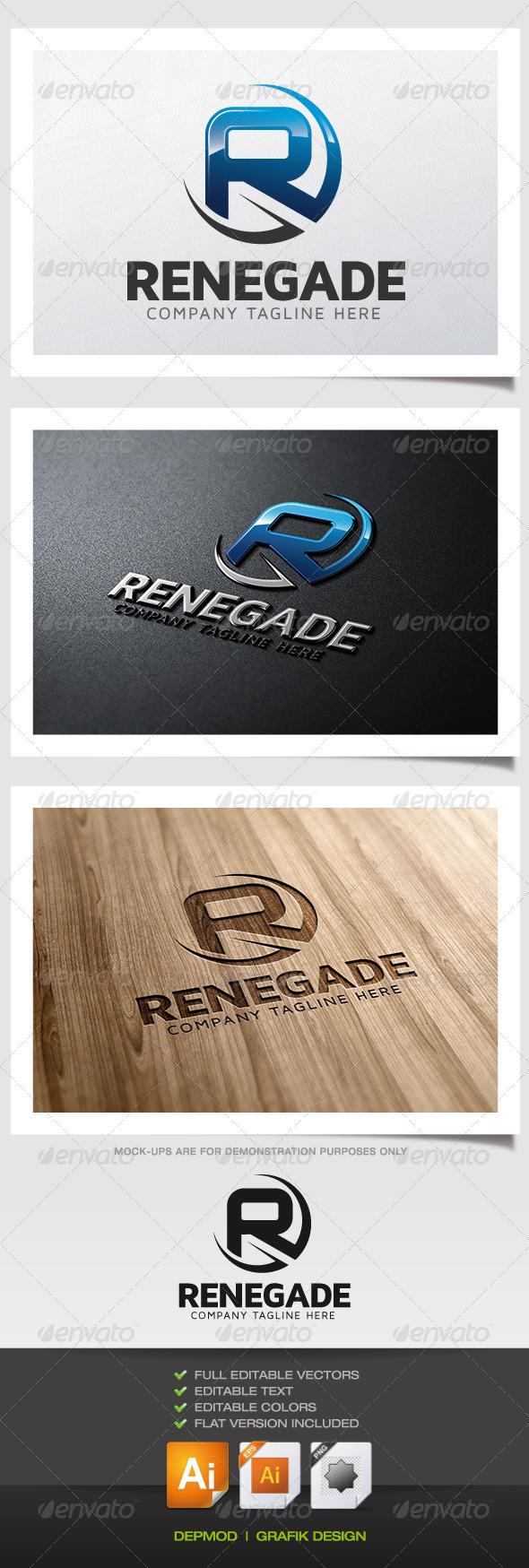 GraphicRiver Renegade Logo 5830549
