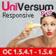 UniVersum Pro - premium responsive OpenCart theme - ThemeForest Item for Sale
