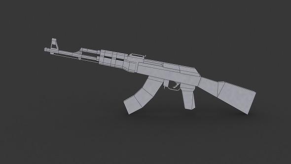 AK-47 Low Ply Model