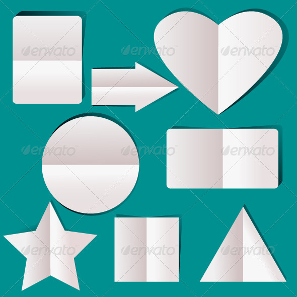 GraphicRiver Geometric Paper Elements 5831029