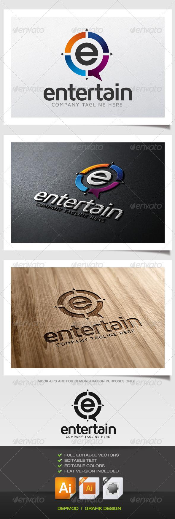 GraphicRiver Entertain Logo 5831416