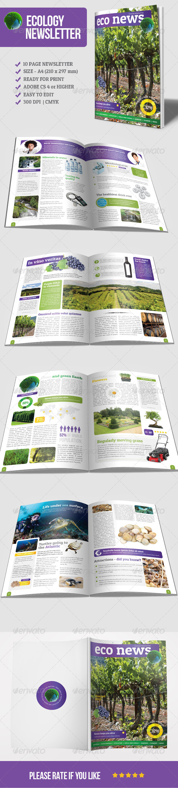 GraphicRiver Eco Newsletter 5831990