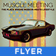 Retro Car Meeting Poster/ Flyer I    - GraphicRiver Item for Sale