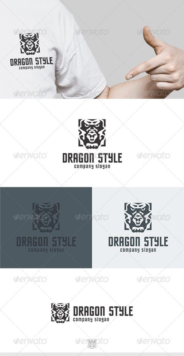 GraphicRiver Dragon Style Logo 5832295