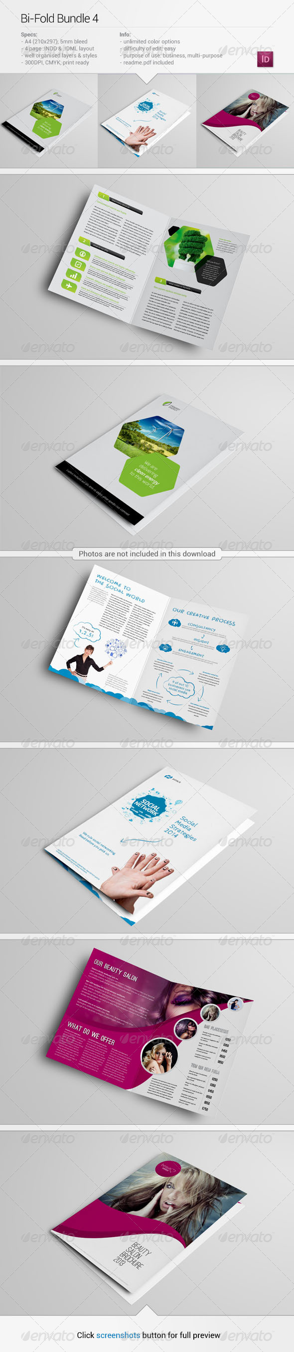 Bi-Fold Bundle 4 - Corporate Brochures
