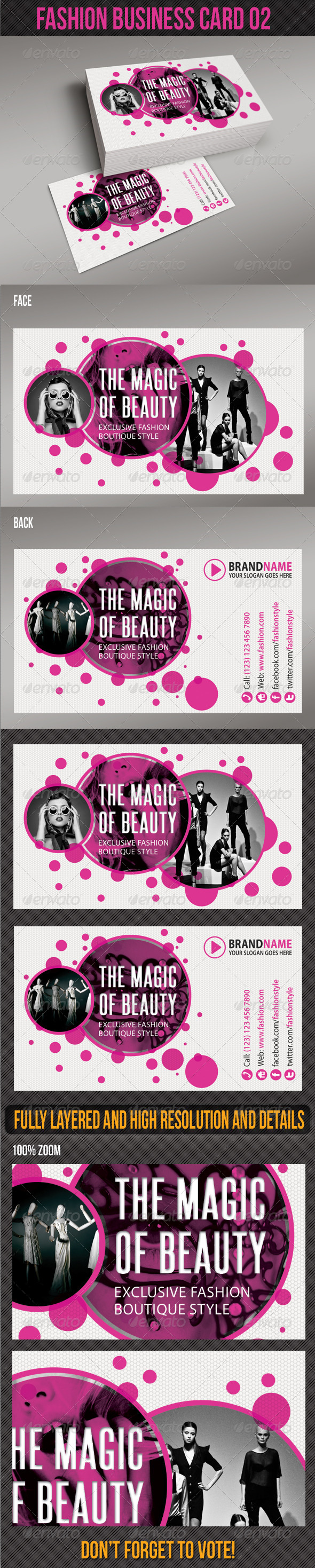 Fashion Business Card 02