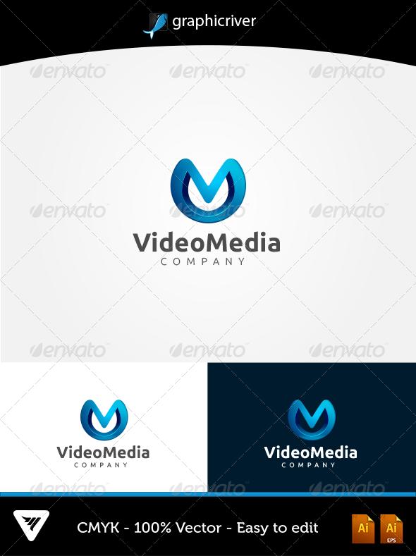 GraphicRiver Video Media Logo 5833721