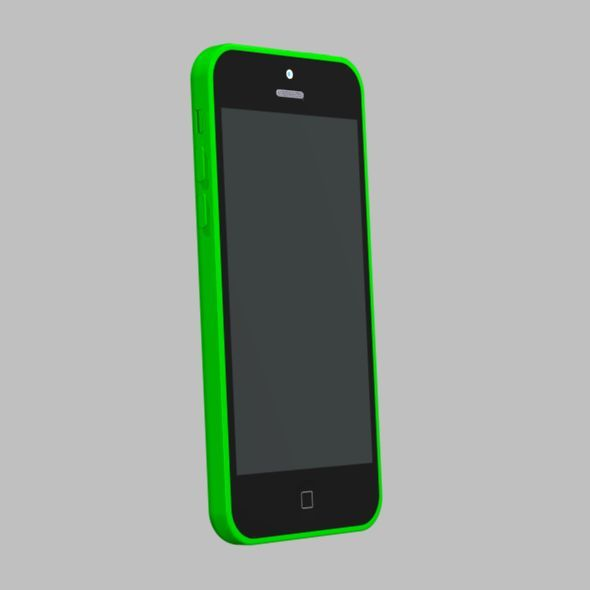 3DOcean Apple iphone 5c cad model 5833728