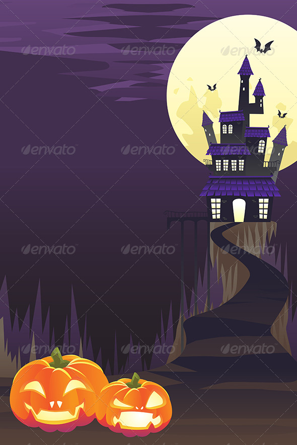 GraphicRiver Halloween Background 5834150