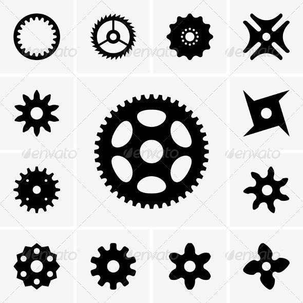 GraphicRiver Cogwheels 5834455