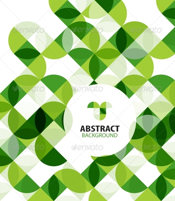 GraphicRiver Green Modern Geometrical Abstract Background 5834690