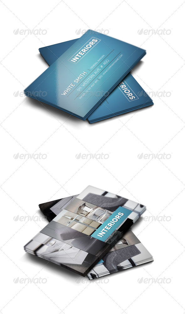 Modern Business Card - Industry Specific Business Cards