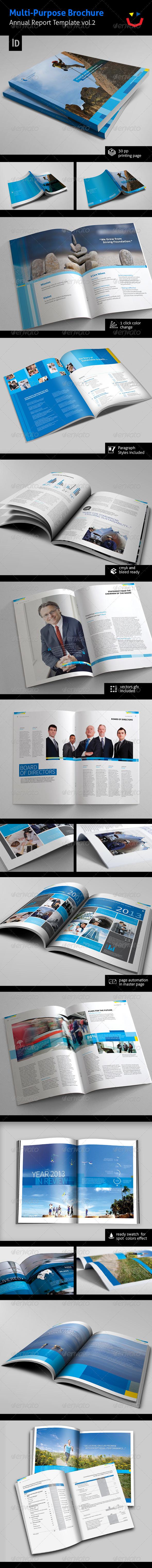 GraphicRiver Annual Report Design Template Vol.2 5834962