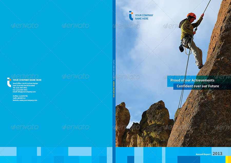 Annual Report Template Design Free Annual Report Design Template