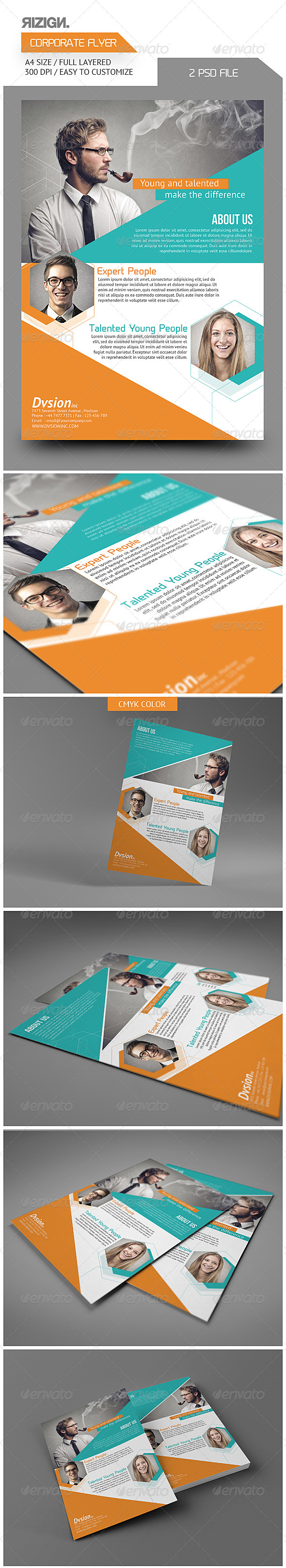 GraphicRiver Corporate Flyer 5835302