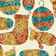 Vector Seamless Winter Christmas Pattern - GraphicRiver Item for Sale