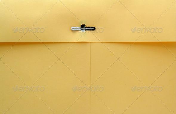 Manila envelope macro background