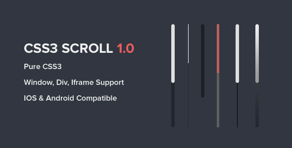 Div scrollbar css style for all browsers