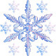 Vector transparent snowflake - GraphicRiver Item for Sale