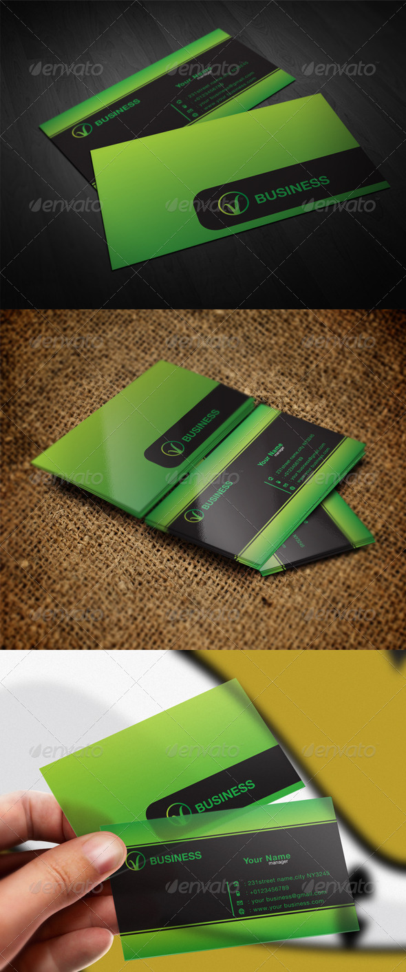GraphicRiver New Business Card 5837442
