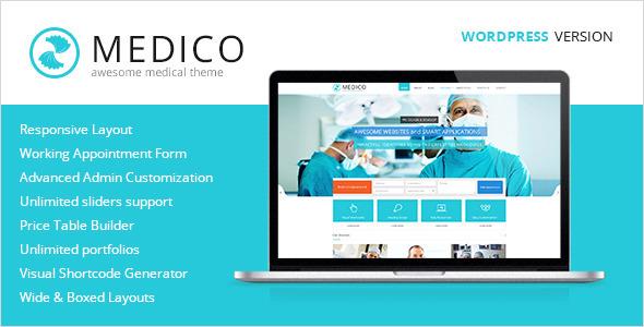 Medico – Medical & Health WordPress Theme (Health & Beauty) images