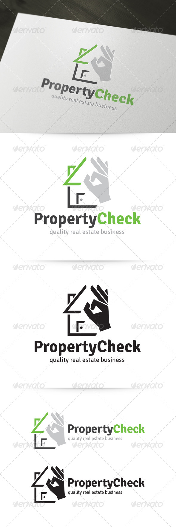 GraphicRiver Property Check Logo 5829665
