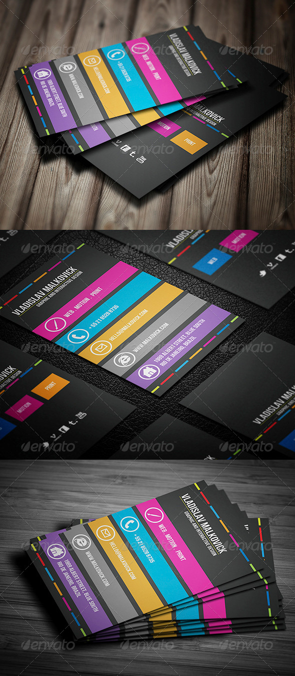 GraphicRiver Creative Business Card 023 5838505