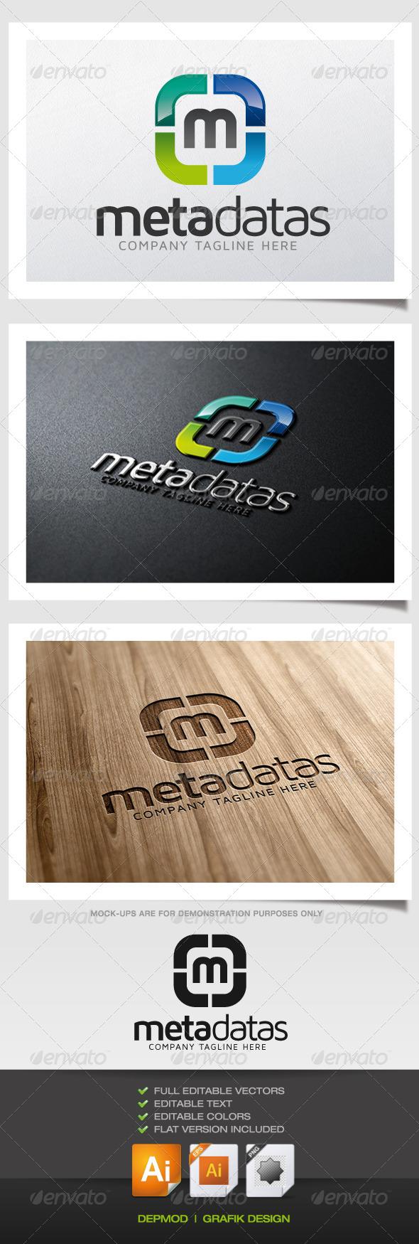 GraphicRiver Meta Datas Logo 5838571