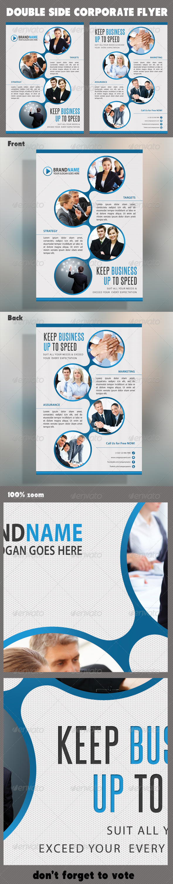 Corporate Product Flyer 32 - Corporate Flyers