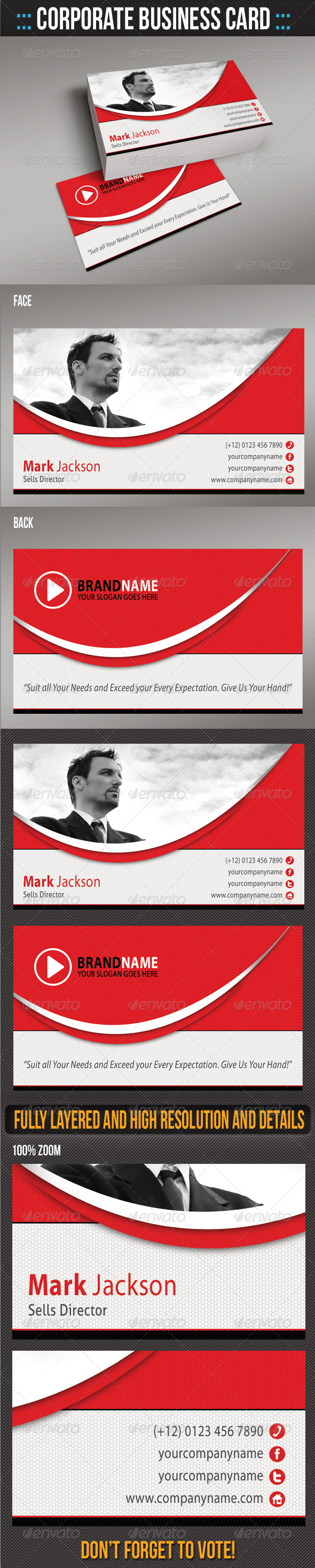 GraphicRiver Corporate Business Card 02 5838636