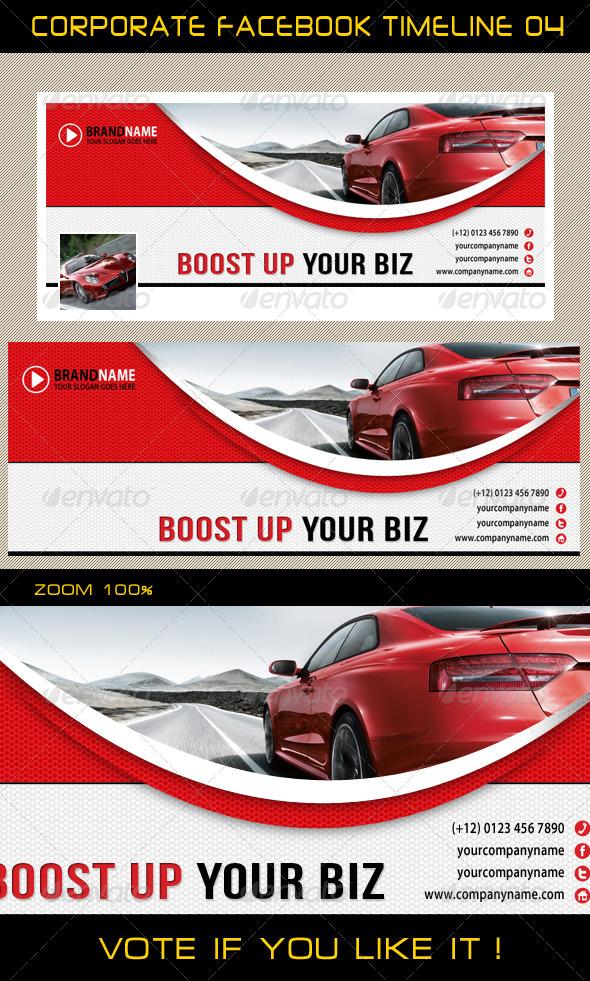 GraphicRiver Corporate Facebook Timeline 05 5838676