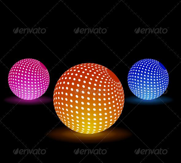 GraphicRiver Disco Light Balls 5832390