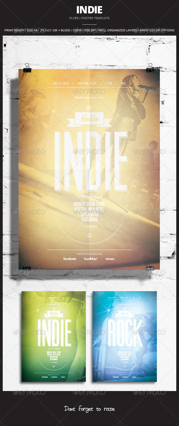 GraphicRiver Indie Flyer Poster 11 5839275
