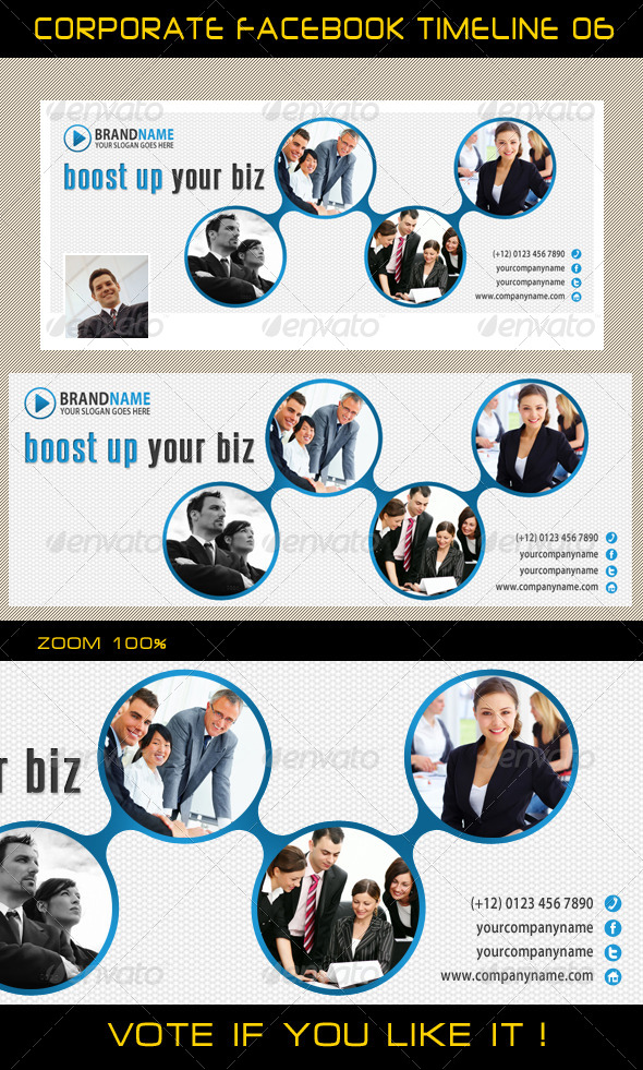 GraphicRiver Corporate Facebook Timeline 06 5839305