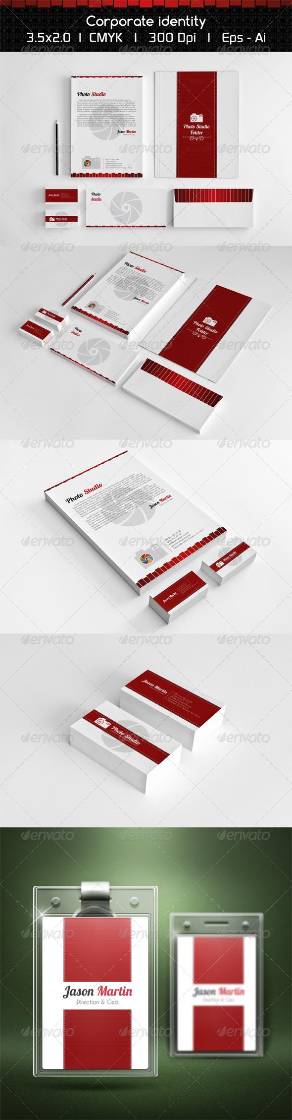 GraphicRiver Photo Studio Corporate Identity 5839865