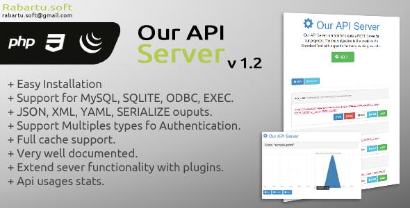 Our API Server | CodeCanyon
