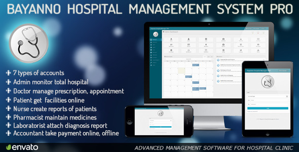 CodeCanyon Bayanno Hospital Management System Pro 5814621